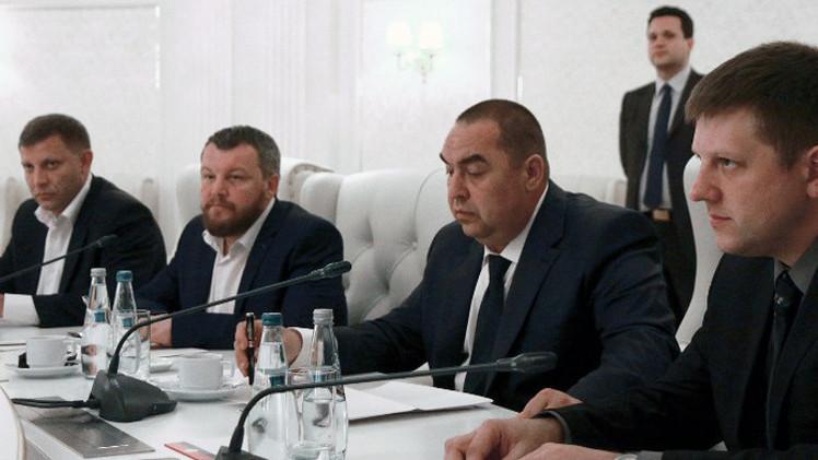 دونيتسك ولوغانسك ستطرحان صيغة جديدة لبروتوكول مينسك