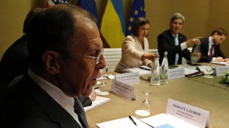 موسكو تدعو كييف إلى تنفيذ التزاماتها بعد خرقها لبيان جنيف