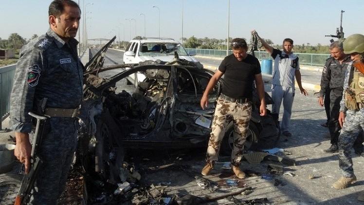 مقتل وإصابة نحو 20 شخصا بتفجير انتحاري غربي الرمادي
