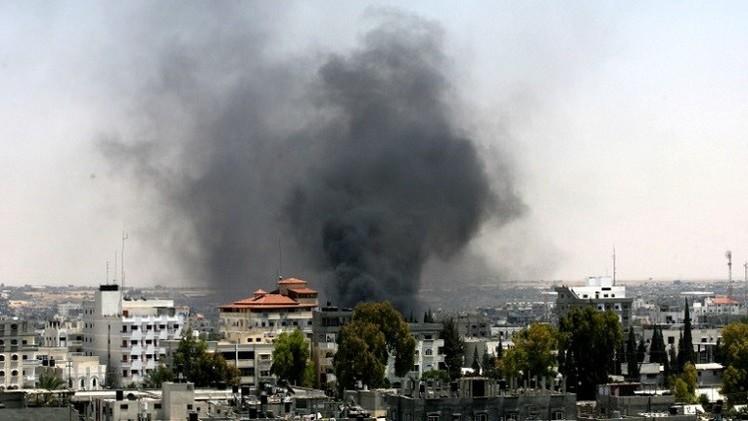 تفجيرات قرب منازل لقادة فتح في غزة