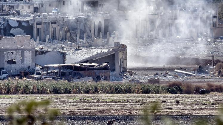 تقدم الأكراد في غرب عين العرب