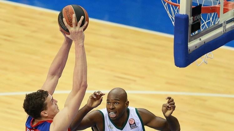تسيسكا موسكو يفوز على أونيكاخا الإسباني بكرة السلة