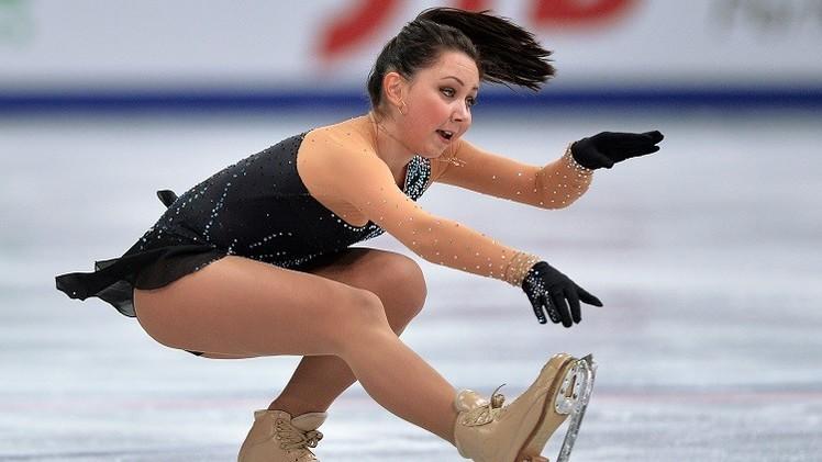 الروسية توكتاميشيفا تتوج بذهبية جائزة الصين الكبرى للتزحلق الفني على الجليد