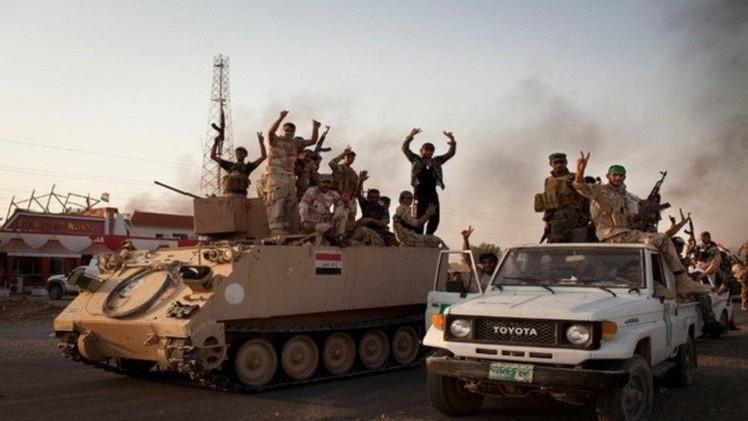 القوات العراقية تعلن تطهير بيجي من