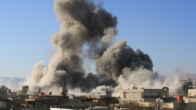 مقتل 21 شخصا في قصف مقاتلات سورية لبلدة يسيطر عليها داعش