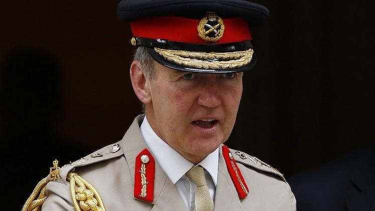 قائد الجيش البريطاني يحذر من أن يستعيد