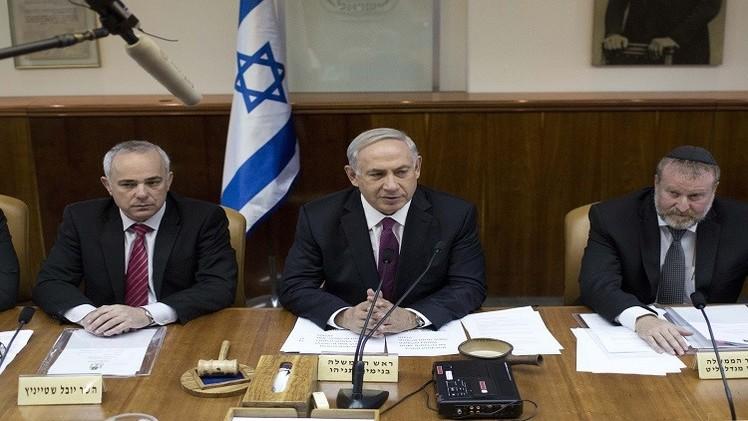 حكومة نتنياهو تصادق على سريان القانون الإسرائيلي في الضفة الغربية