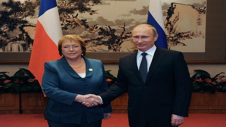 تشيلي تتطلع إلى إنشاء منطقة تجارة حرة مع روسيا