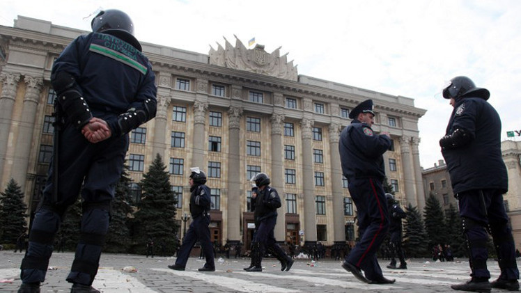 إصابة 11 في انفجار يعتقد أنه عمل إرهابي في خاركوف الأوكرانية