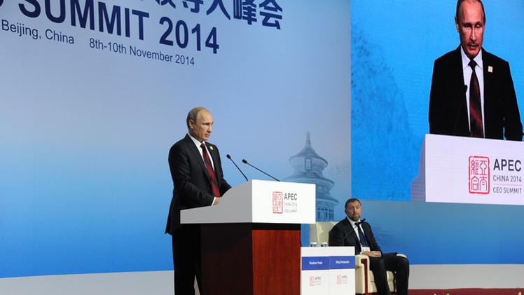 بوتين: روسيا تعتزم زيادة حجم الحسابات التجارية مع الصين باليوان والروبل