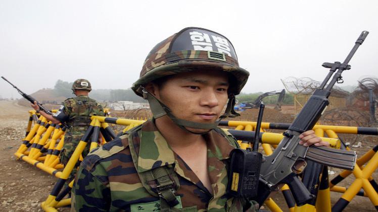 إطلاق نار على الخط الفاصل بين الكوريتين