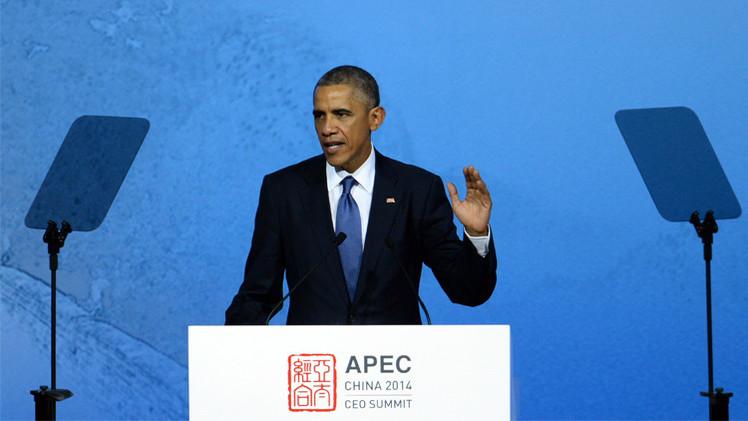 أوباما يدعو إلى رفع آخر العقبات من طريق اتفاق التبادل الحر عبر المحيط الهادئ