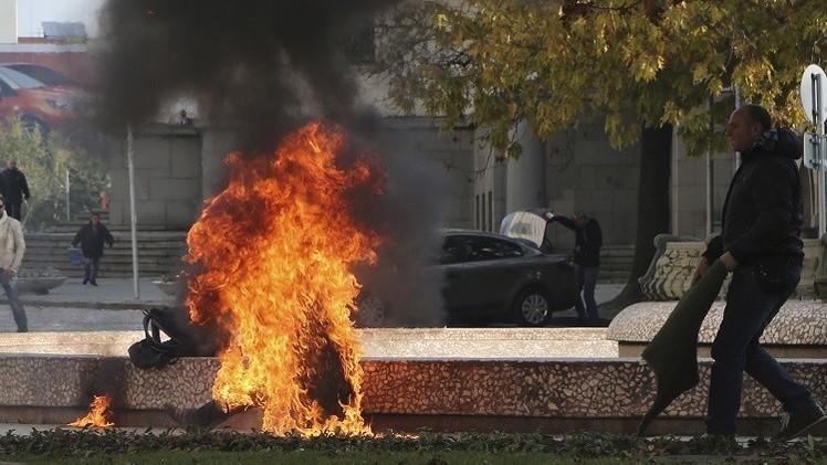 بلغاريا.. وفاة امرأة أحرقت نفسها عند مبنى إدارة الرئيس