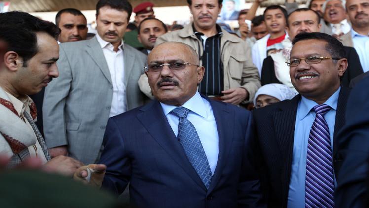 الولايات المتحدة تفرض عقوبات على صالح واثنين من قادة الحوثيين