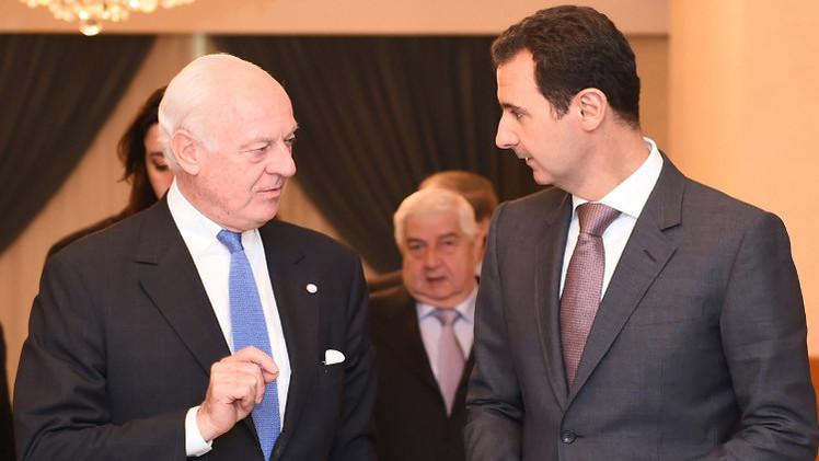 واشنطن ترحب وتشكك بنوايا دمشق في وقف القتال بحلب