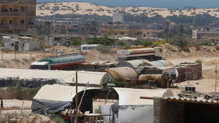 مقتل فلسطيني بانفجار في معبر كرم أبو سالم برفح