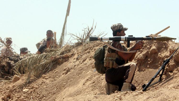 القوات العراقية تطهر بيجي