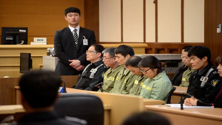 الحكم بالسجن 36 عاما على قبطان العبّارة الكورية المنكوبة