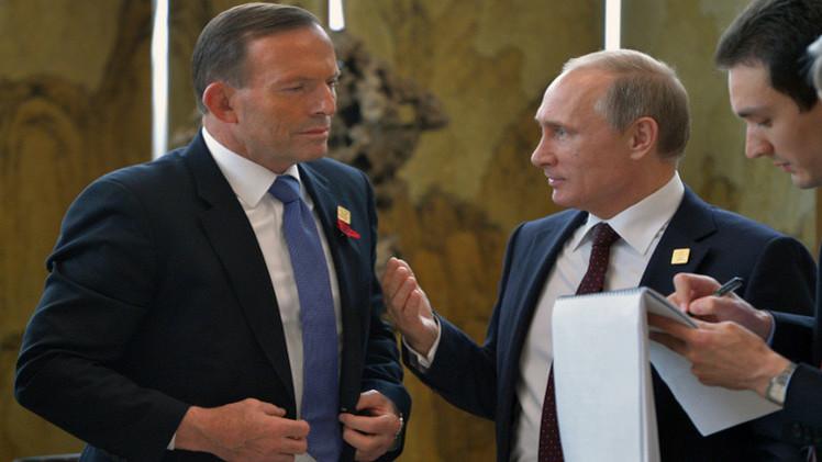 بوتين وأبوت يشددان على ضرورة الإسراع بتحقيقات