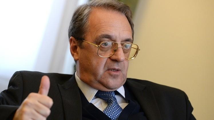 بوغدانوف: معاذ الخطيب طرح في موسكو مسألتين لا اعتراض لنا عليهما