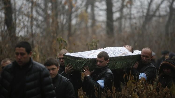 قصف دونيتسك يسفر عن مقتل 38 شخصا خلال أسبوع