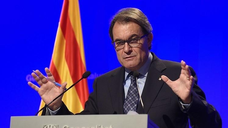 حكومة كاتالونيا تطلب من مدريد تحديد شروط