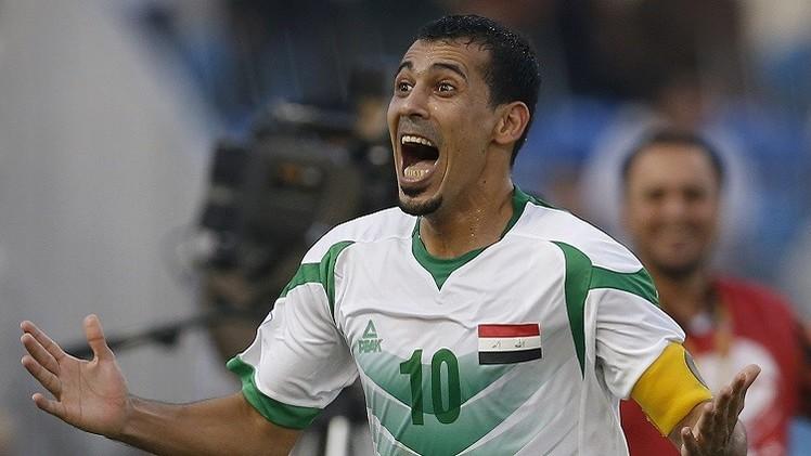 العراق يتلقى ضربة موجعة بغياب يونس محمود عن