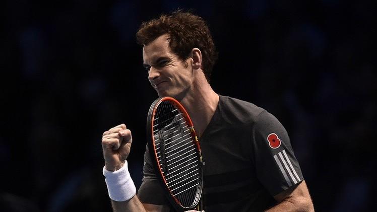 موراي بنعش آماله في البطولة الختامية للاعبي التنس