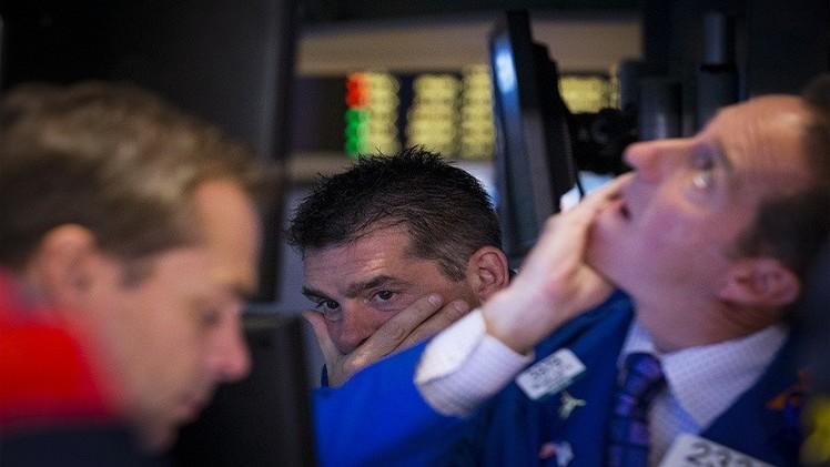 الأسهم الأمريكية تتراجع عن مستويات قياسية مع هبوط أسهم المصارف