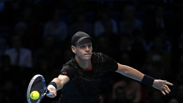 التشيكي بيرديتش يصحح طريقه في البطولة الختامية للماسترز