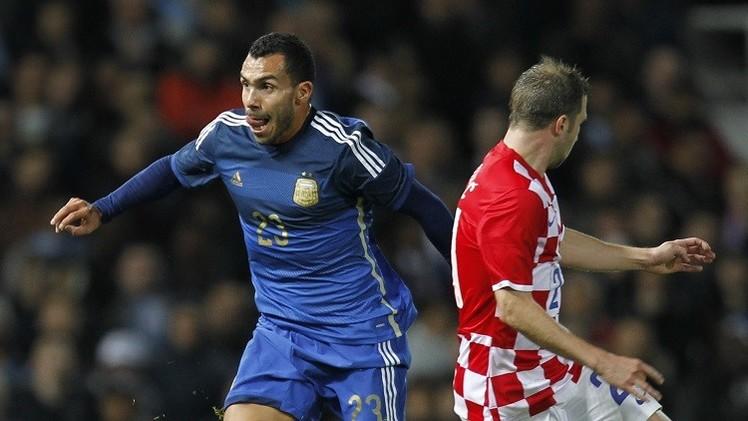 الأرجنتين ترد على هدف الفلسطيني الشربيني بهدفين في مرمى كرواتيا