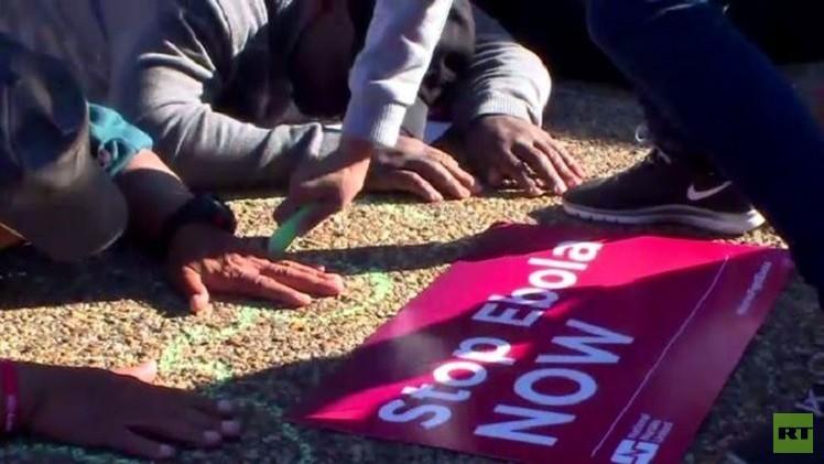 إضراب ممرضات أمريكيات بسبب نقص اجراءات السلامة من فيروس إيبولا(فيديو)