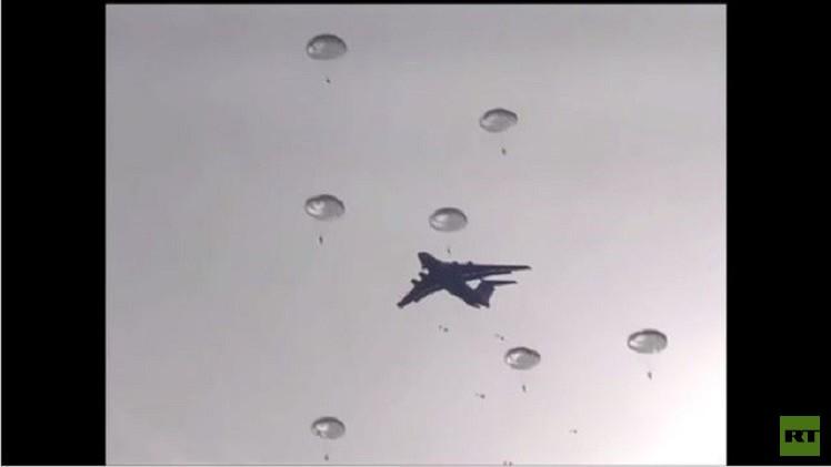 بالفيديو.. مظلي روسي يلتقط صورة سيلفي أثناء القفز بالمظلة