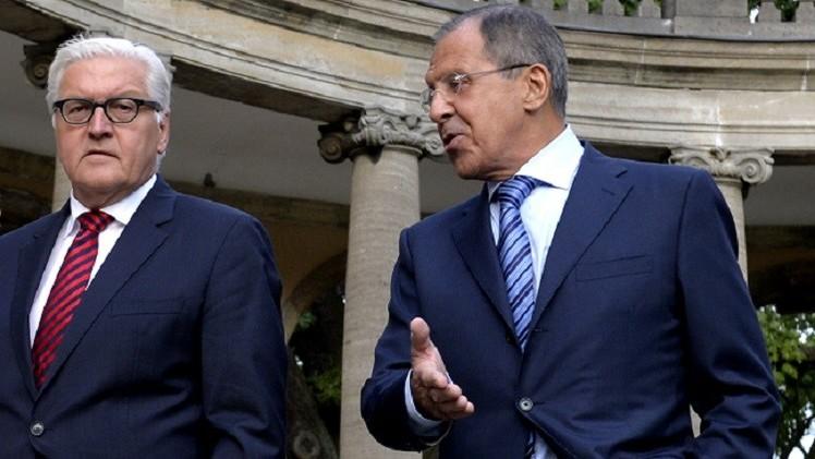 لافروف وشتاينماير سيبحثان الأزمتين الأوكرانية والسورية