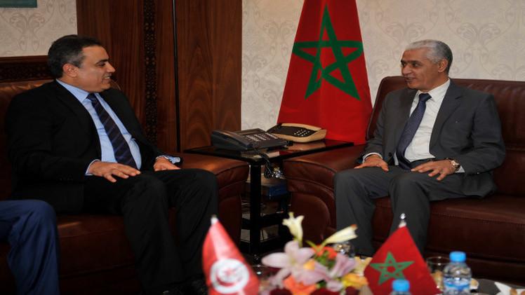 رئيس الحكومة التونسية يبحث مع نظيره المغربي الأزمة الليبية
