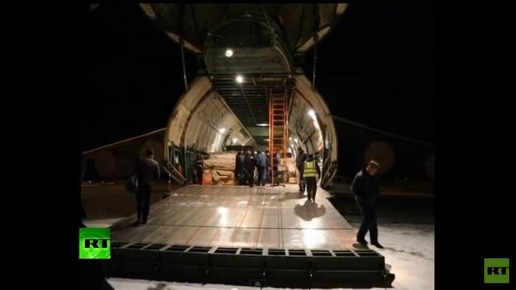 روسيا ترسل إلى غينيا مستشفى ميدانيا لمكافحة إيبولا