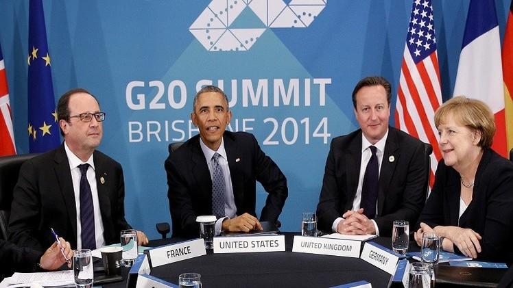 ميركل تحث على الإسراع بخطى مفاوضات الشراكة التجارية الأوروبية مع أمريكا