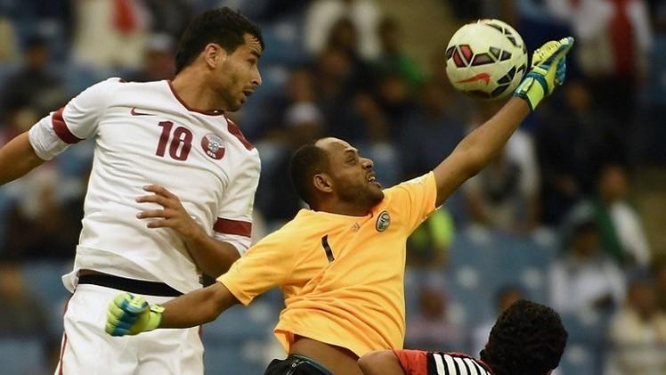 لا أهداف في مباراة الـ100 دقيقة بين قطر واليمن في خليجي 22