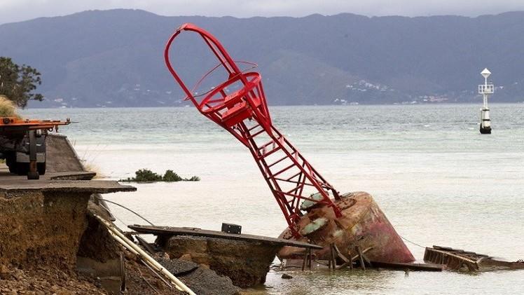 زلزال بقوة 6.7 درجات يضرب الساحل النيوزيلندي