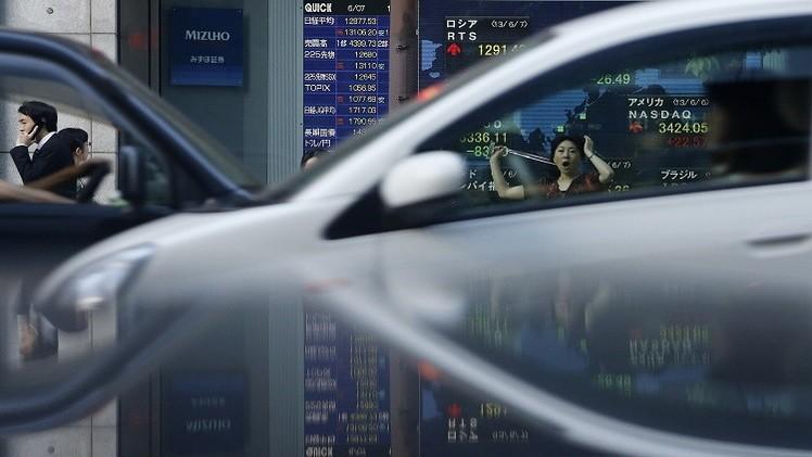 مؤشر نيكي يسجل أكبر هبوط في 3 شهور بسبب كساد الاقتصاد