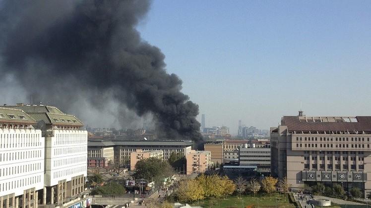 18 قتيلا في حريق بمصنع للمواد الغذائية شرقي الصين