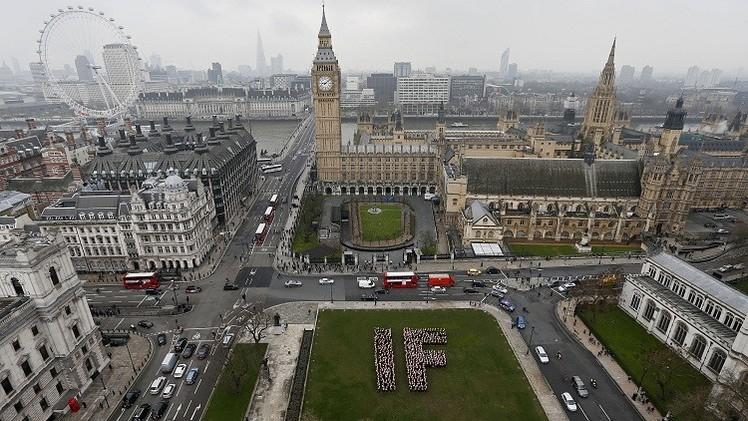 إخلاء  قسم  من مبنى البرلمان البريطاني بعد العثور على كيس مريب