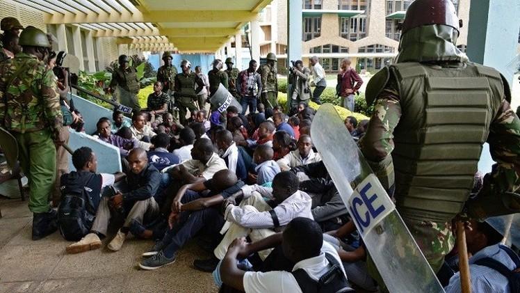 مقتل كيني واعتقال 200 في حملة أمنية