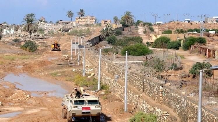 مصر تزيد عمق المنطقة العازلة مع غزة إلى كيلومتر