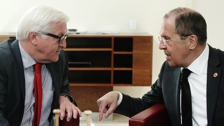 لافروف وشتاينماير سيبحثان أوكرانيا والعلاقات الروسية الأوروبية