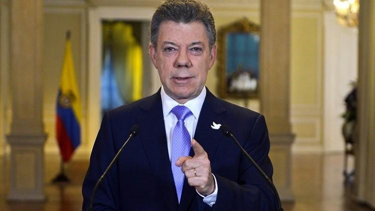 الرئيس الكولومبي: رغبة