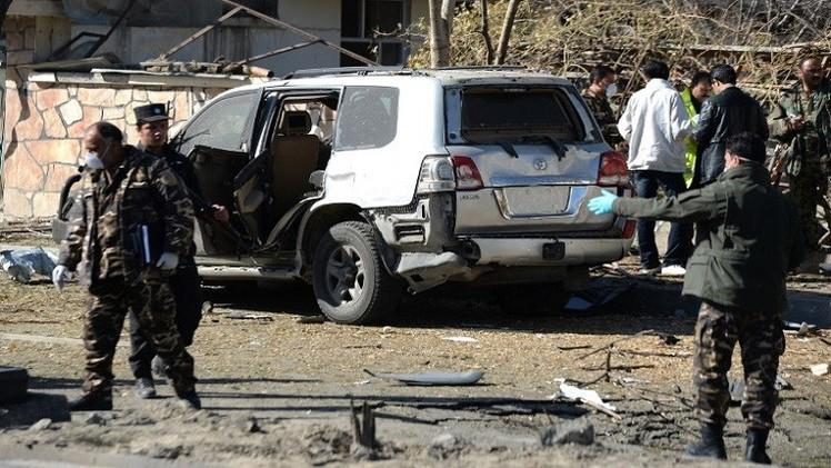 قتيلان على الأقل بانفجار قوي هز وسط العاصمة الأفغانية كابل