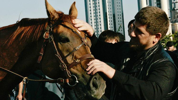 إلغاء العقوبات بحق حصان رئيس الشيشان