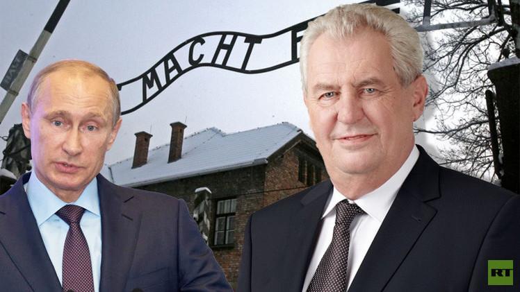 الرئيس التشيكي يدعو بوتين لزيارة براغ