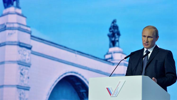 الرئيس الروسي يتوعد بمحاربة الفساد